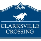 clarksville crossing logo blue